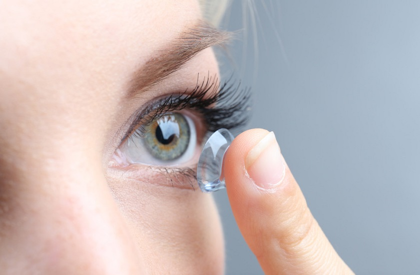 kính áp tròng