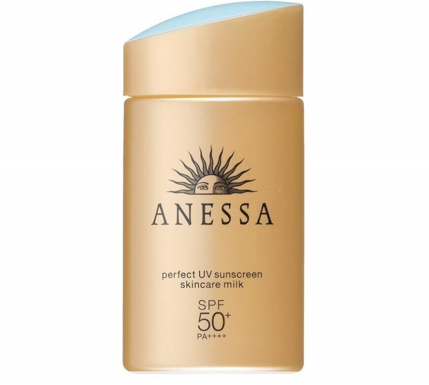 Anessa Perfect UV Sunscreen Skincare Milk SPF 50+, PA ++++