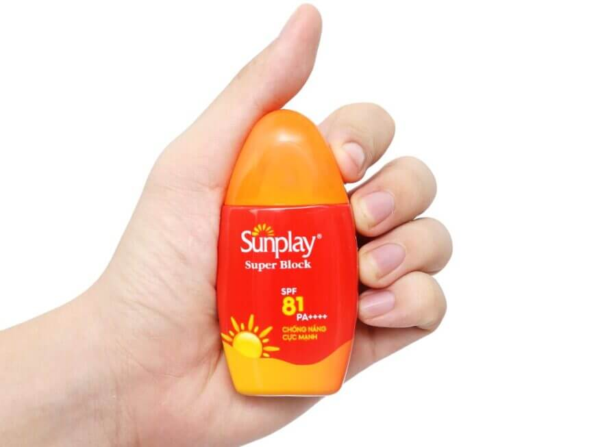 kem chống nắng nhật bản Sunplay Super Block SPF 81